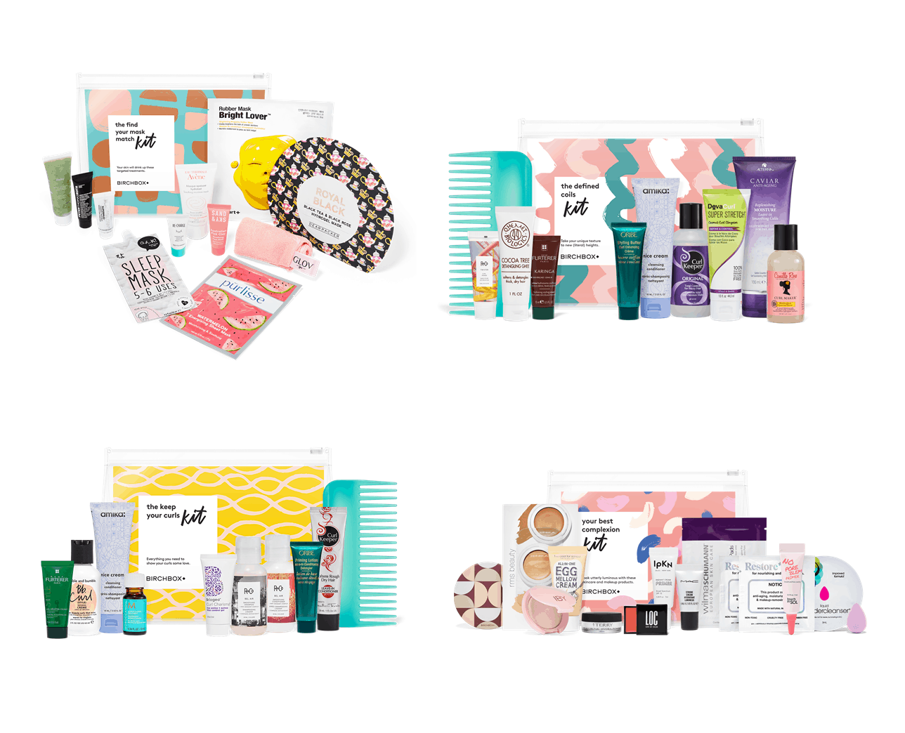 Four New Birchbox Kit Available Now + Coupons!