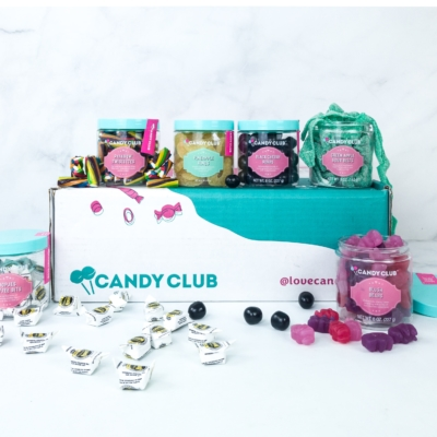 Candy Club August 2019 Subscription Box Review + Coupon