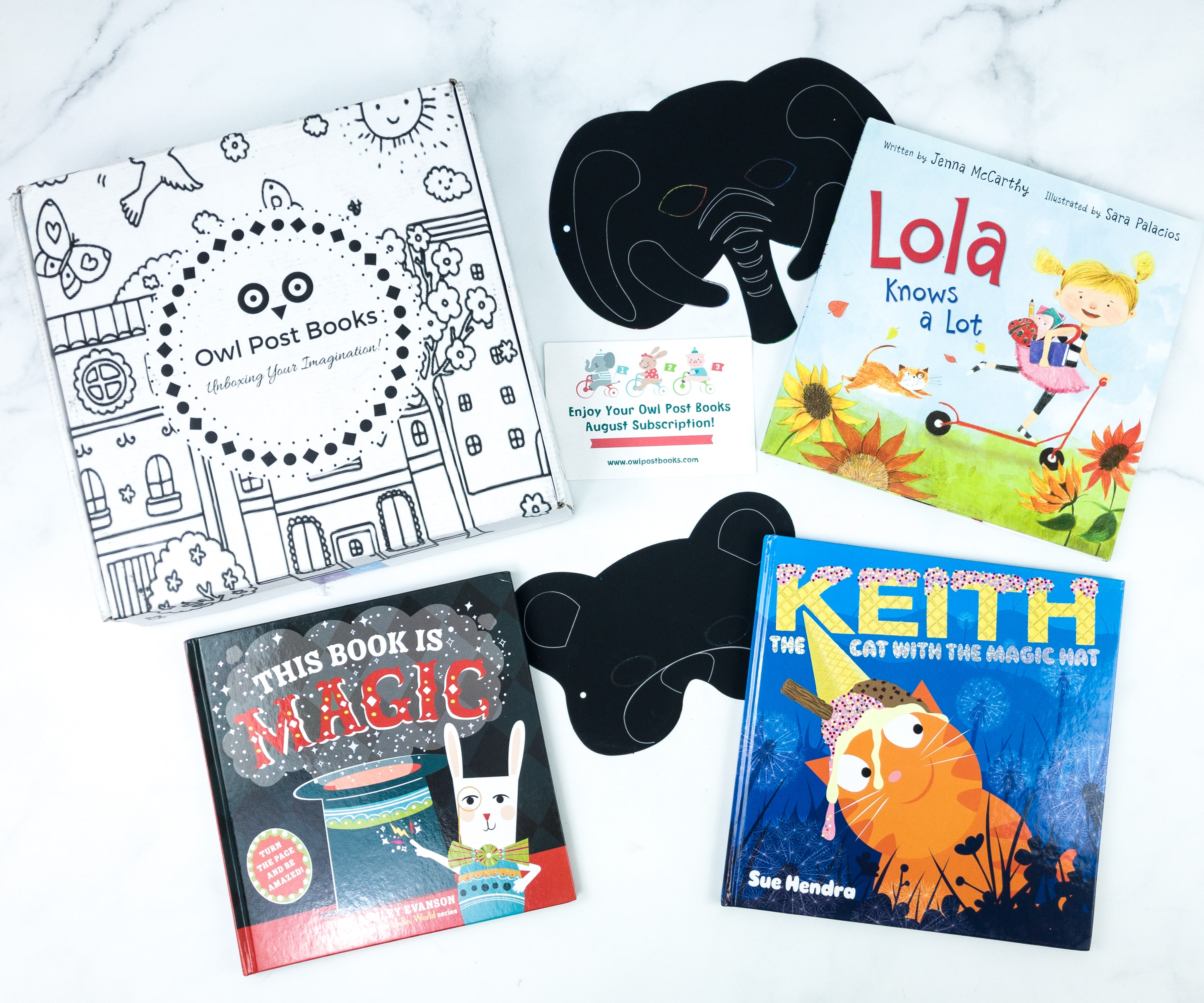 Owl Post Books Imagination Box August 2019 Subscription Box Review