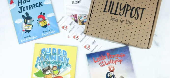 Lillypost August 2019 Board Book Subscription Box Review – PICTURE BOOKS