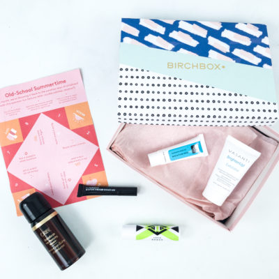August 2019 Birchbox Subscription Box Review & Coupon – Curated Box