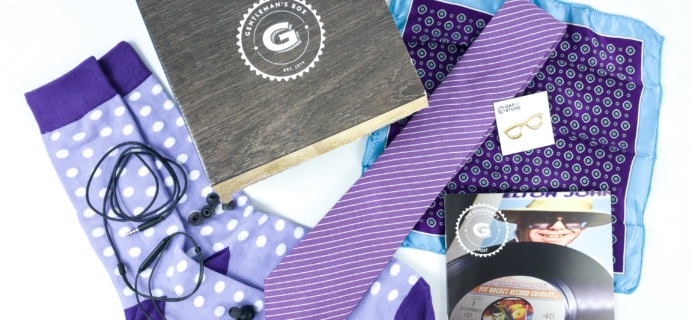 The Gentleman's Box August 2019 Review & Coupon