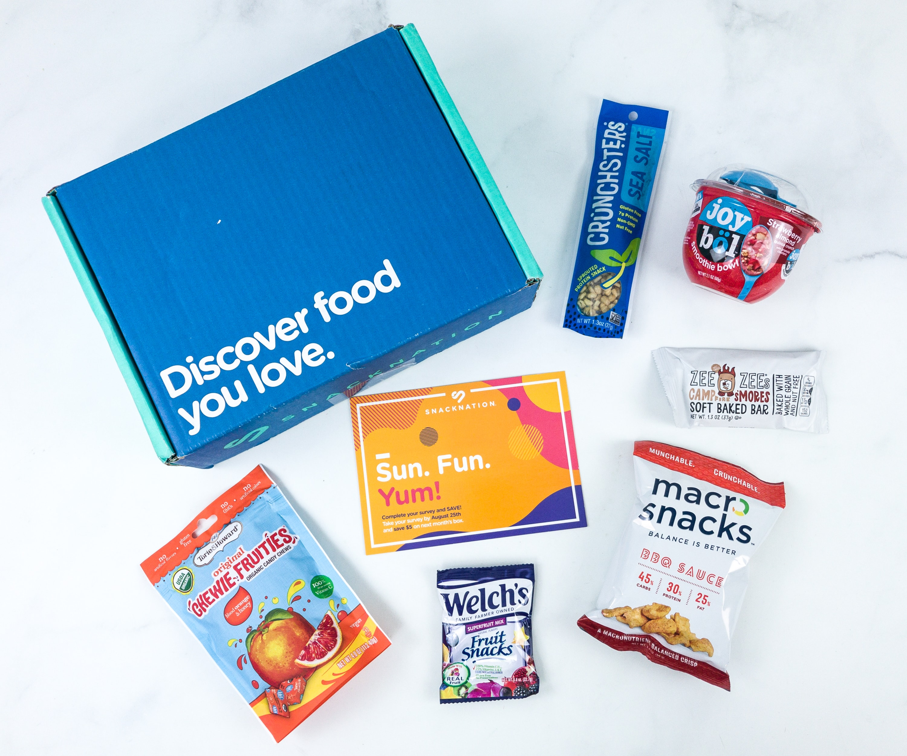 Snack Nation August 2019 Subscription Box Review + Coupon!