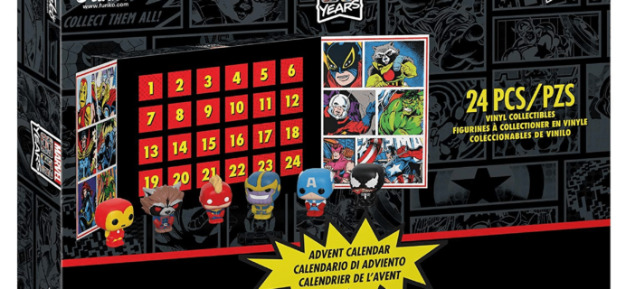 Funko Marvel 80th Anniversary Pocket POP! Advent Calendar Available For Preorder Now!