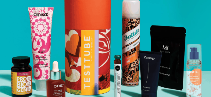 New Beauty Test Tube Cyber Monday Coupon: 25% Off Subscriptions + Limited Edition Boxes!