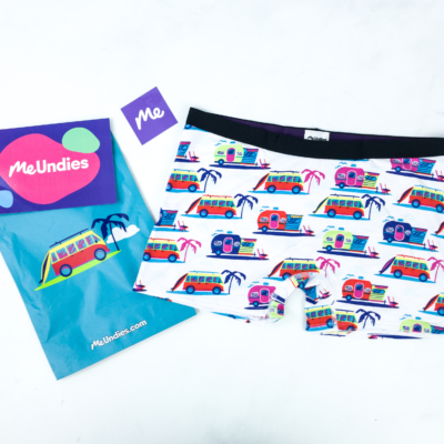 MeUndies August 2019 Subscription Review – Women's