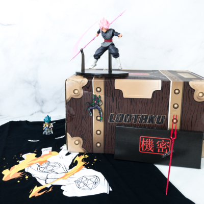 Lootaku July 2019 Subscription Box Review & Coupon