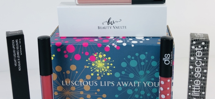 Lipstick Junkie August 2019 Subscription Box Review + Coupon!