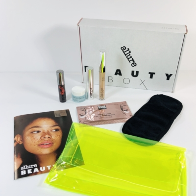 Allure Beauty Box August 2019 Subscription Box Review & Coupon