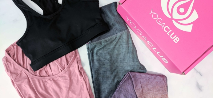 YogaClub Subscription Box Review + Coupon – August 2019