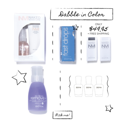 Zoya Dabble in Color Back to School Box Available Now!