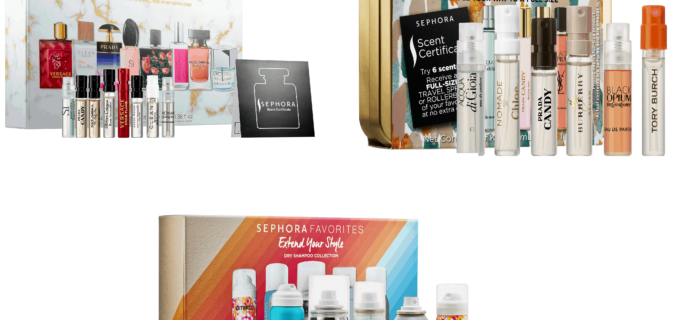 Three New Sephora Kits Available Now + Coupons!