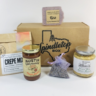 Spindletop Box August 2019 Subscription Box Review + Coupon