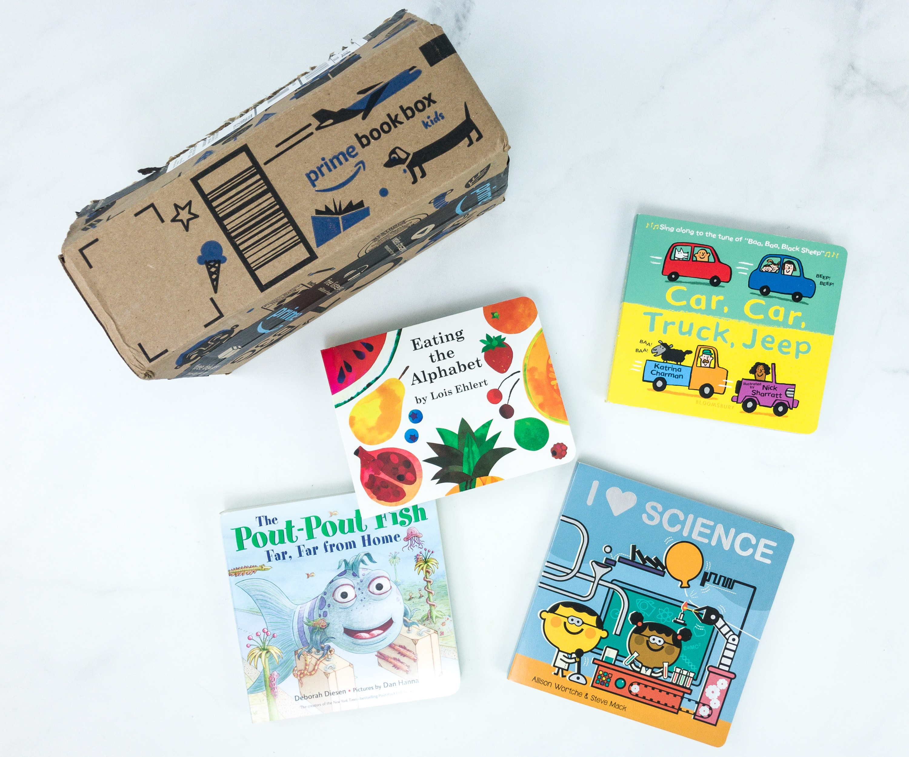 Amazon Prime Book Box Kids Review + Coupon – AGE 3-5 August 2019