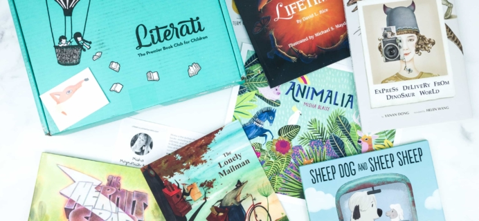 Literati Club Nova Box Review + Coupon – August 2019