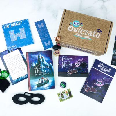 OwlCrate Jr. August 2019 Box Review & Coupon