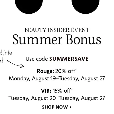 Sephora Summer Sale: Get 15% Off SITEWIDE!