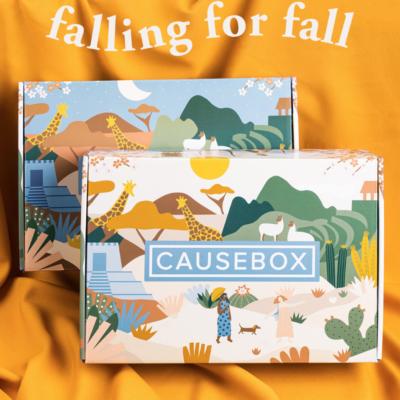 CAUSEBOX Fall 2019 Box Available Now + Coupon!