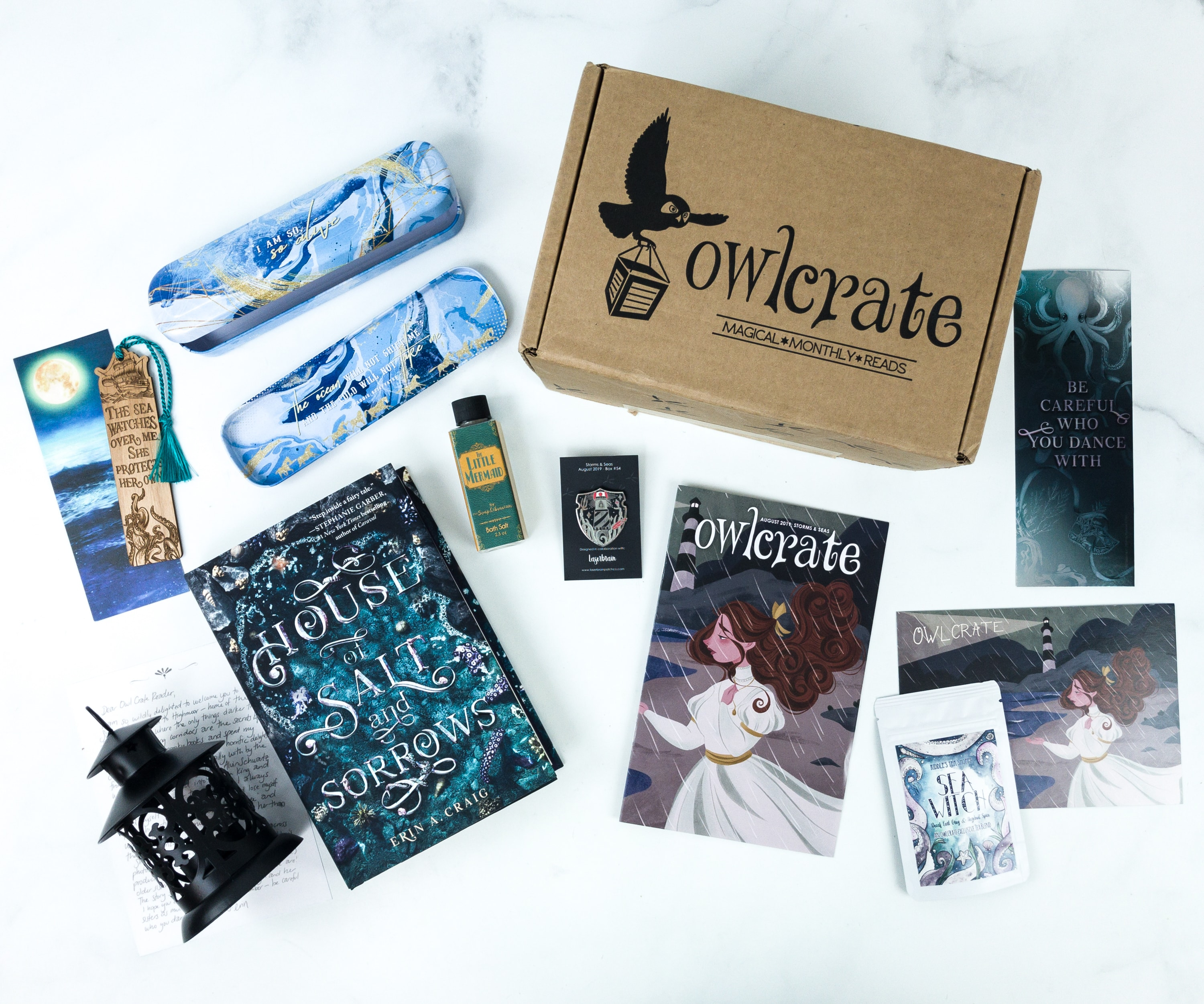 OwlCrate August 2019 Subscription Box Review + Coupon