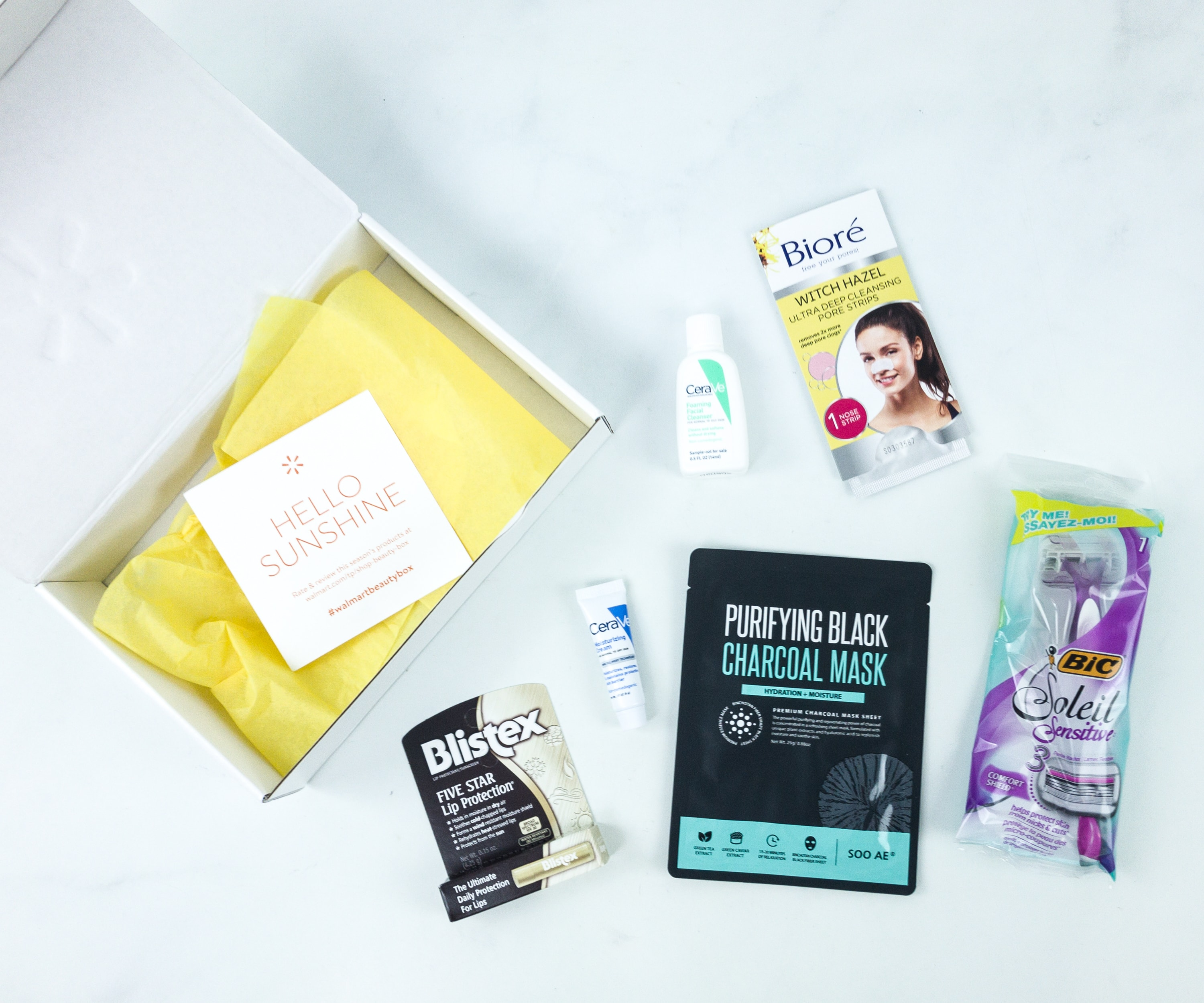 Walmart Beauty Box Summer 2019 Review – CLASSIC Box