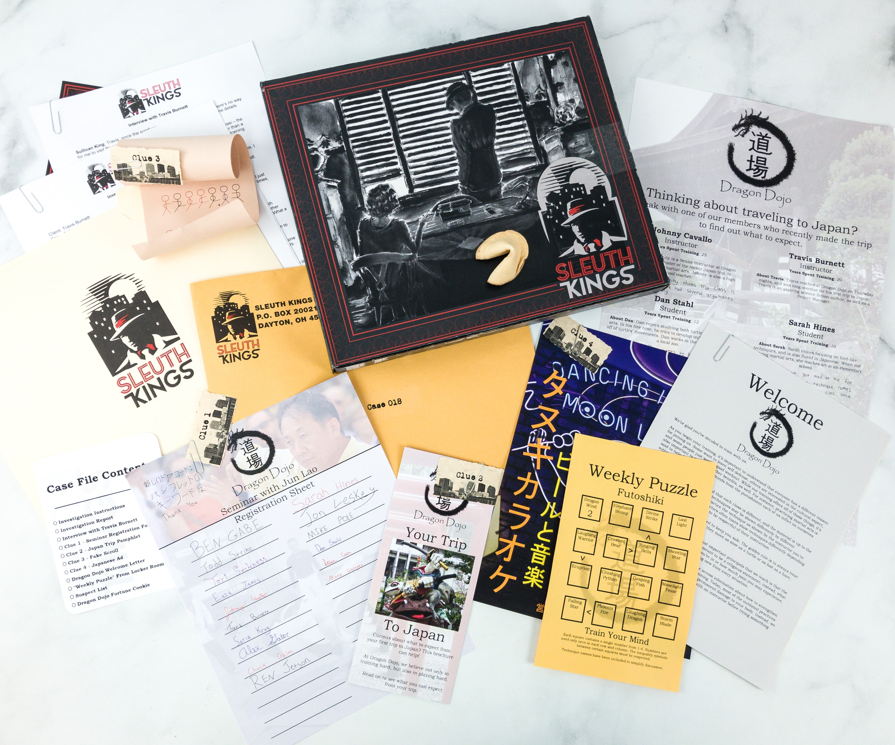 Sleuth Kings Subscription Box Review + Coupons – Case 018 The Stolen Scrolls