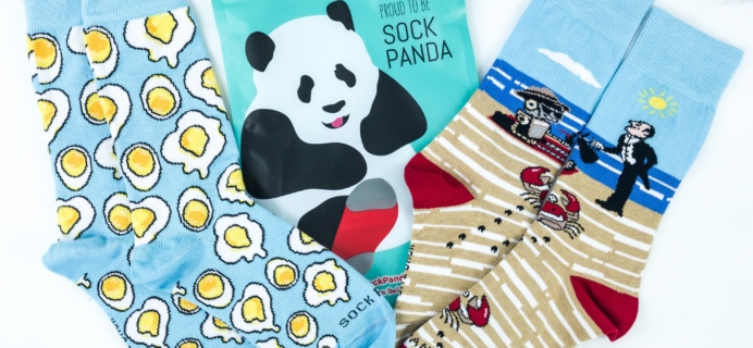 Sock Panda Tweens August 2019 Subscription Review + Coupon