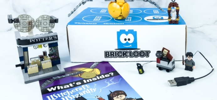 Brick Loot August 2019 Subscription Box Review & Coupon