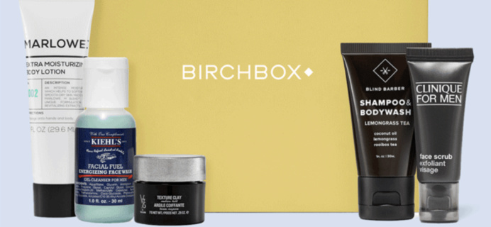 Birchbox Grooming Coupon: Get Your First Box 50% Off!