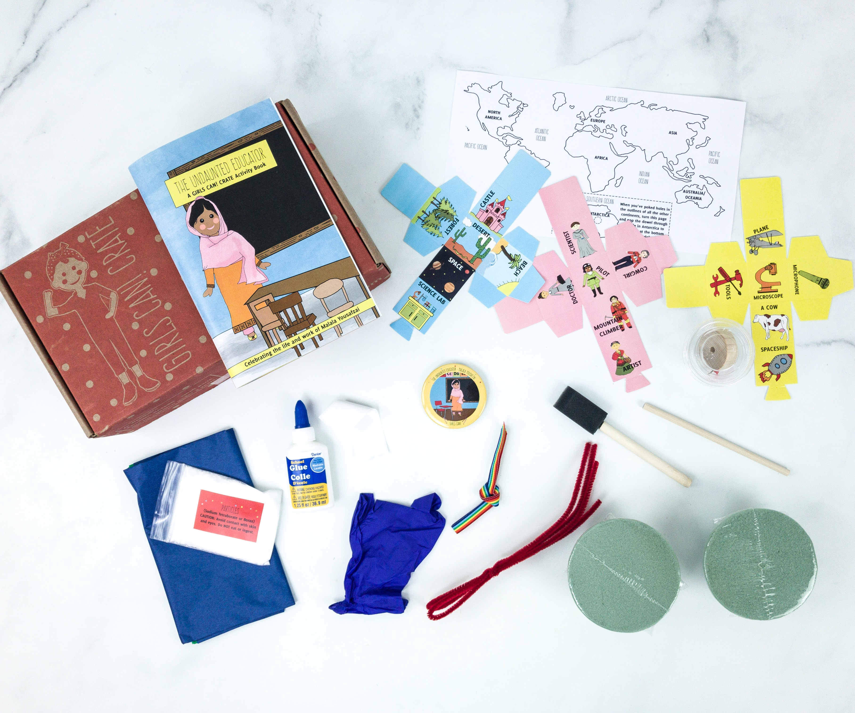 Girls Can! Crate Subscription Box Review + Coupon – THE UNDAUNTED EDUCATOR