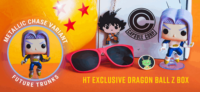 New Hot Topic Dragon Ball Z Funko Mystery Box Available Now!