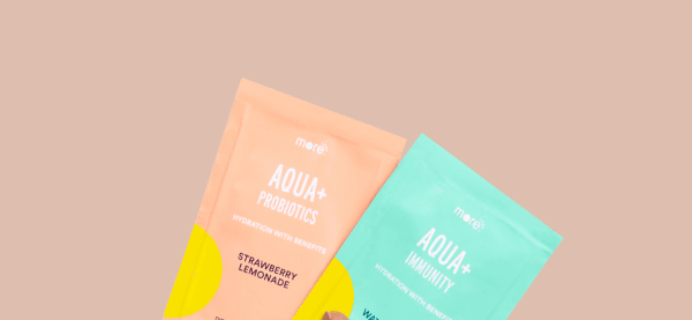 MoreLabs Aqua Plus Available Now + Coupon!