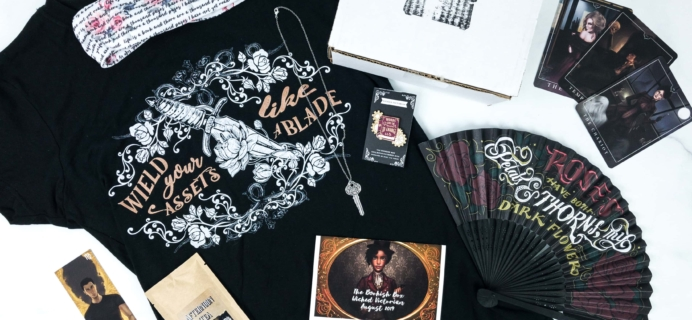 The Bookish Box August 2019 Subscription Box Review + Coupon
