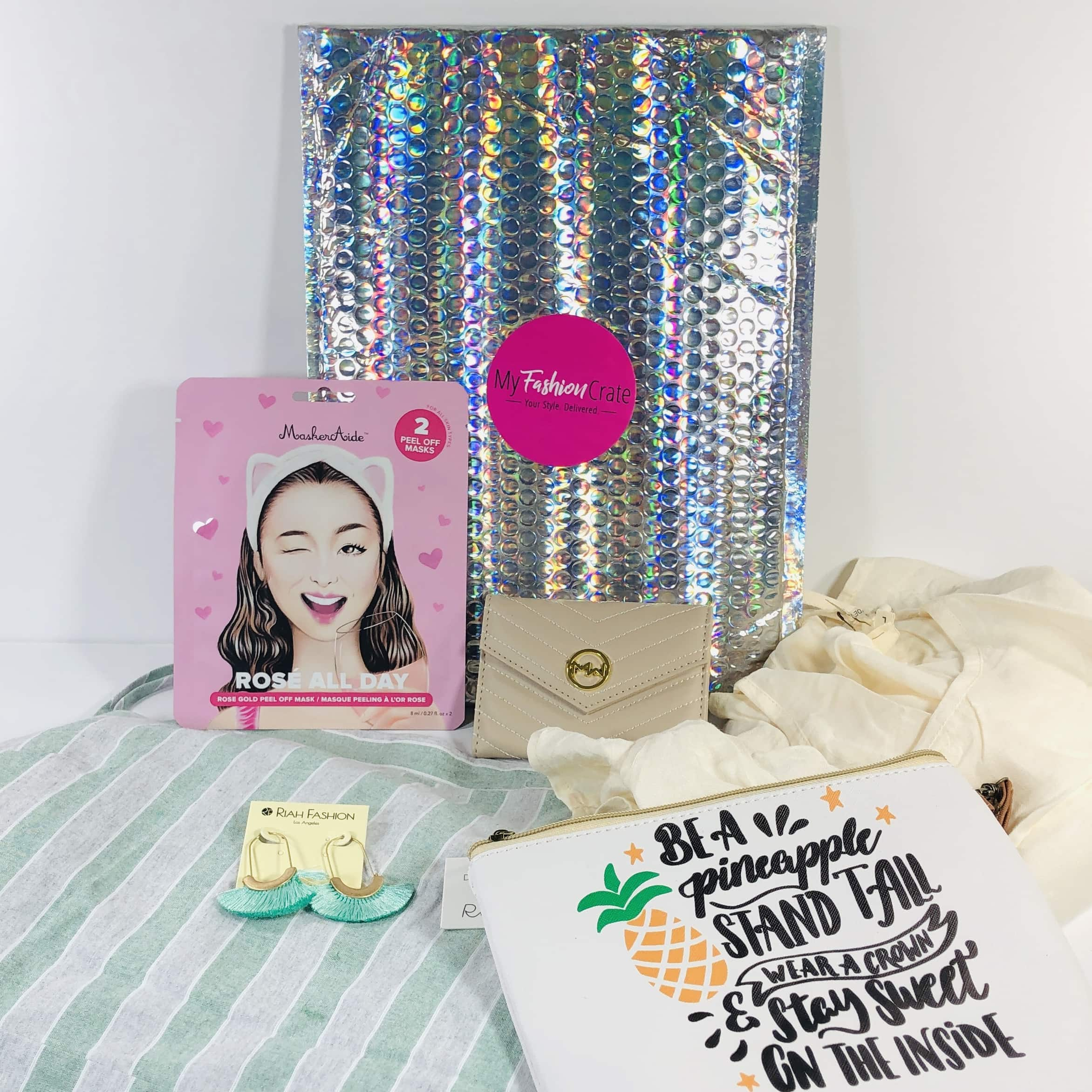 My Fashion Crate August 2019 Subscription Box Review