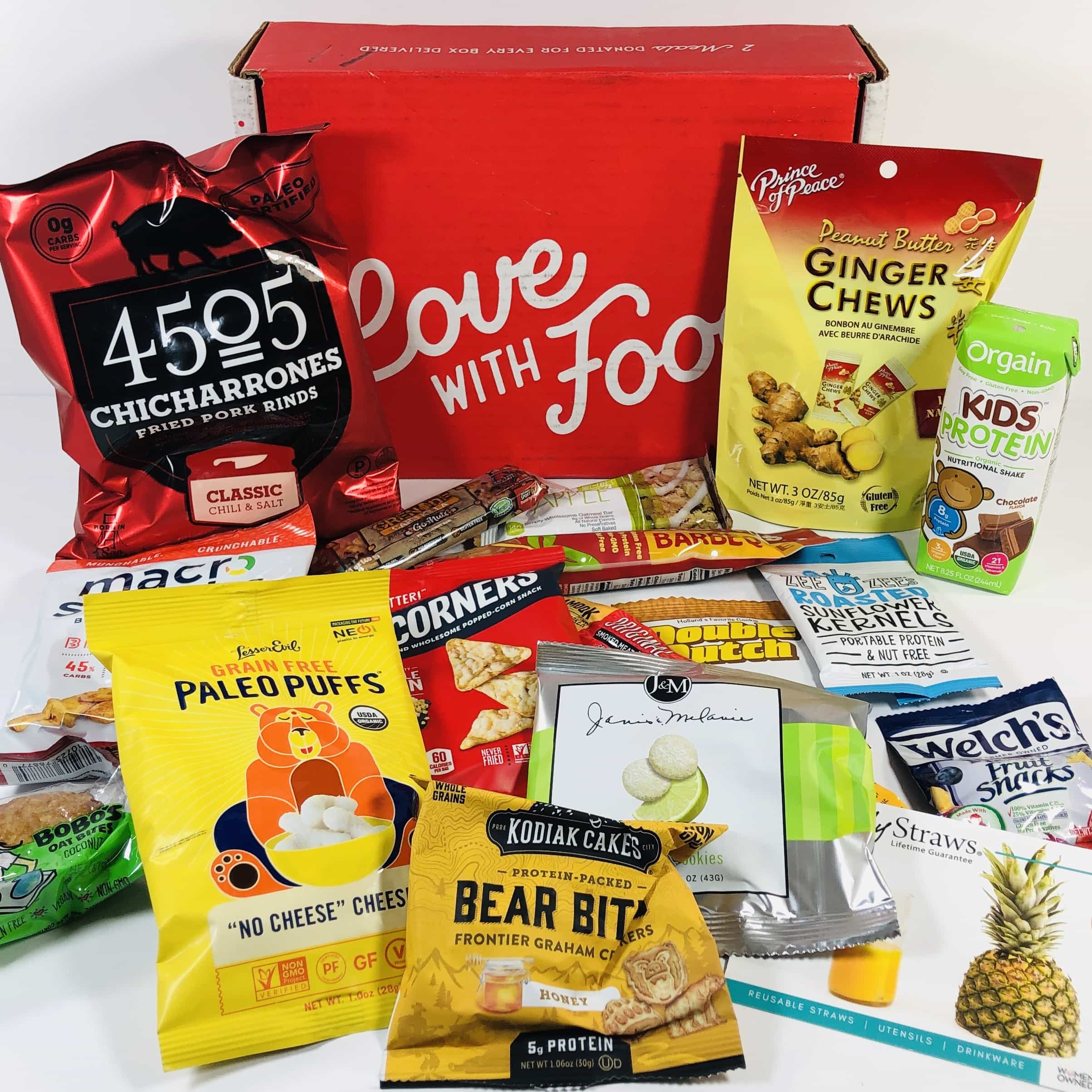 Love With Food August 2019 Deluxe Box Review + Coupon!