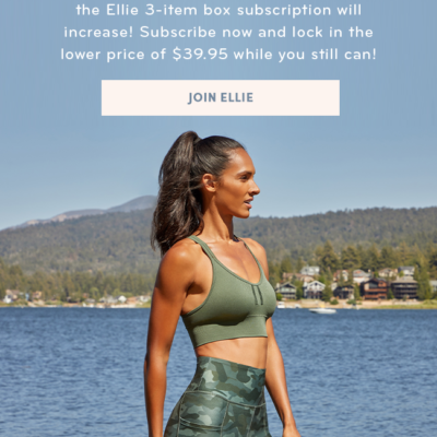 Ellie Subscription Update – Price Increase Coming!