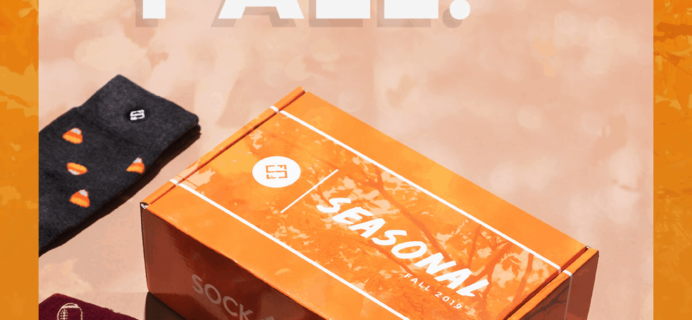 Sock Fancy Seasonal Box Fall 2019 Available For Preorder Now + Full Spoilers + Coupon!