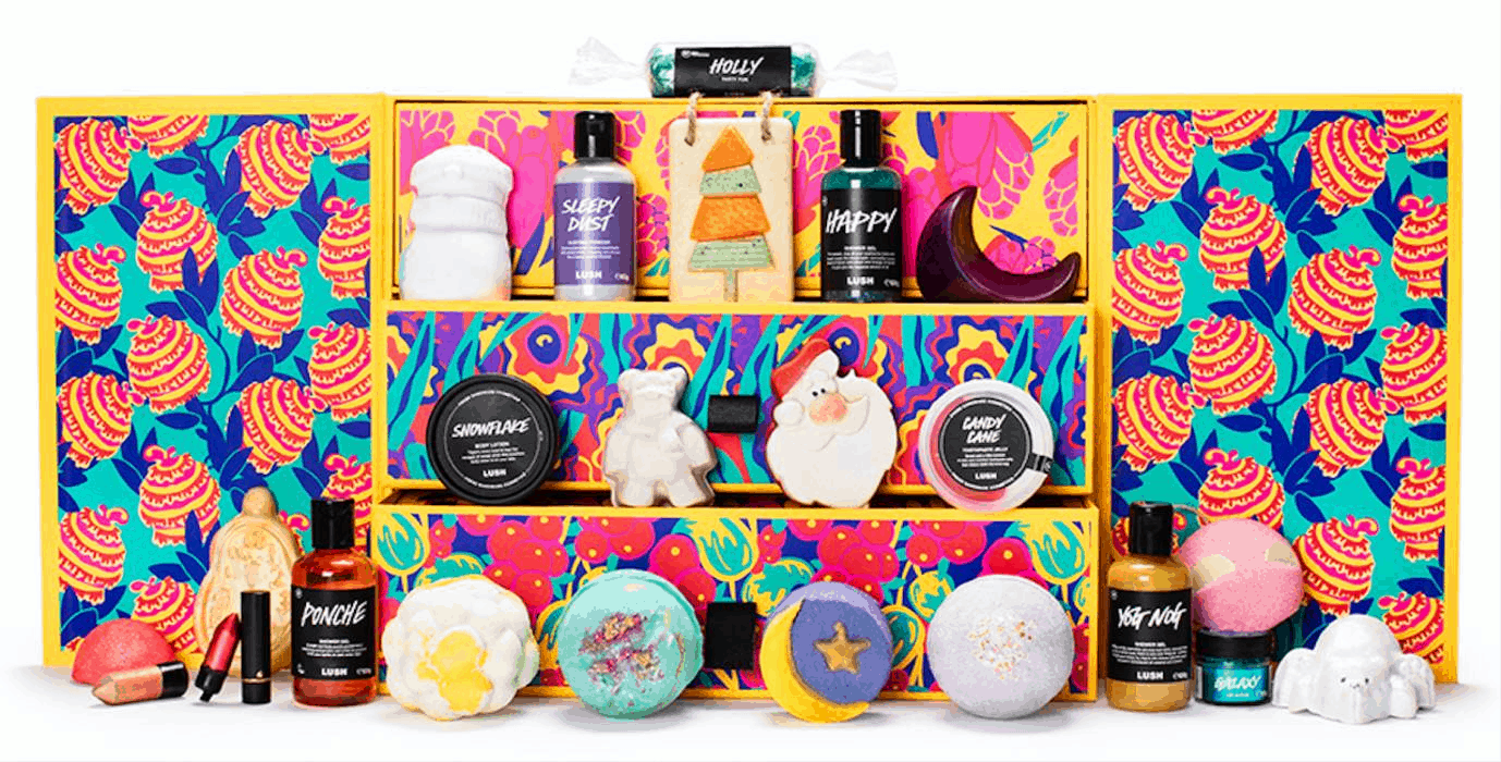 2019 lush beauty advent calendar sold out full spoilers. Black Bedroom Furniture Sets. Home Design Ideas