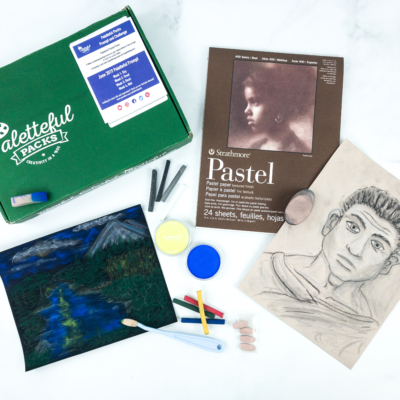 Paletteful Packs Subscription Box Review + Coupon – Premier Pack Pan Pastel