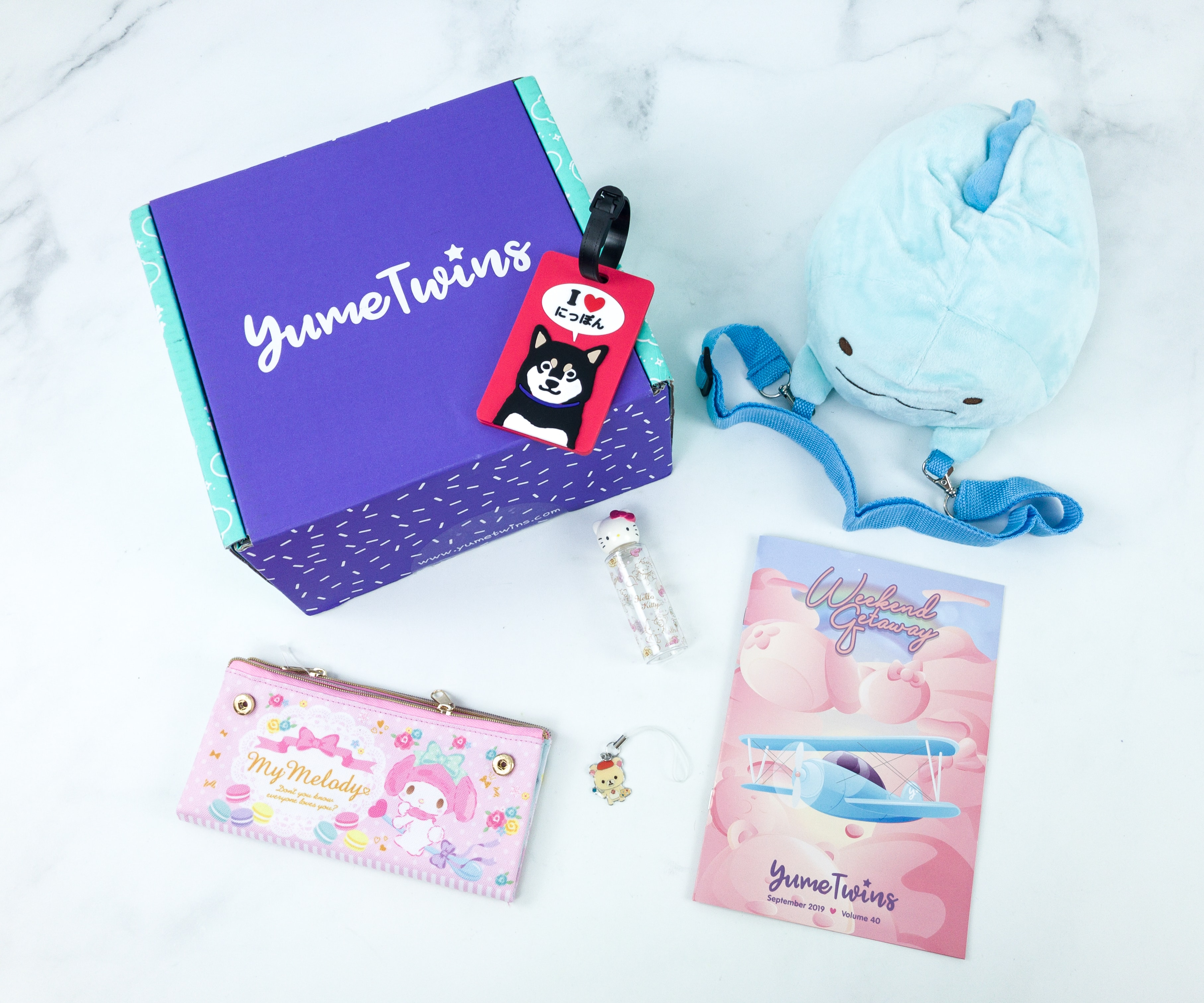 YumeTwins September 2019 Subscription Box Review + Coupon