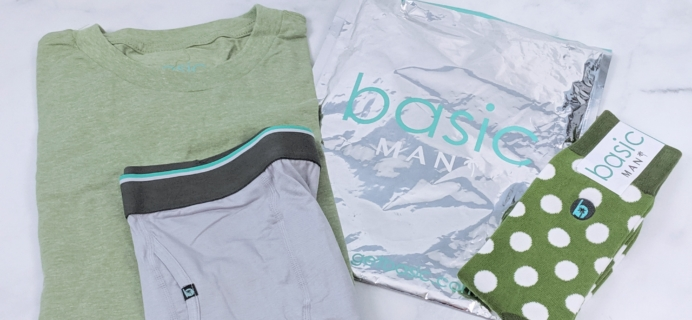 Basic MAN Subscription Box August 2019 Review + 50% Off Coupon