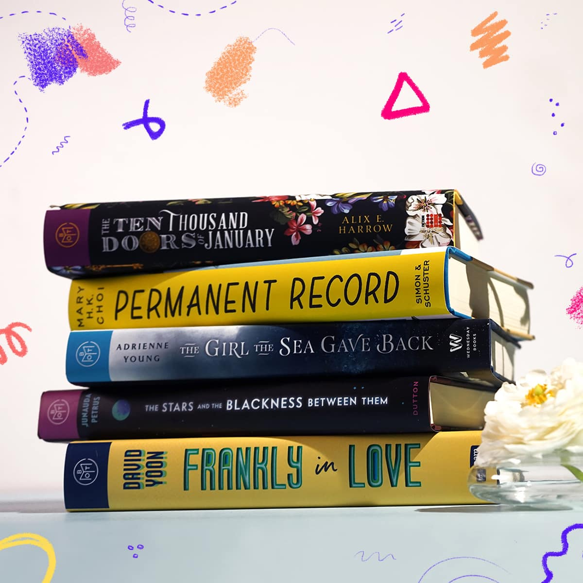 Book of the Month YA September 2019 Selection Time + First Month $9.99 Coupon!