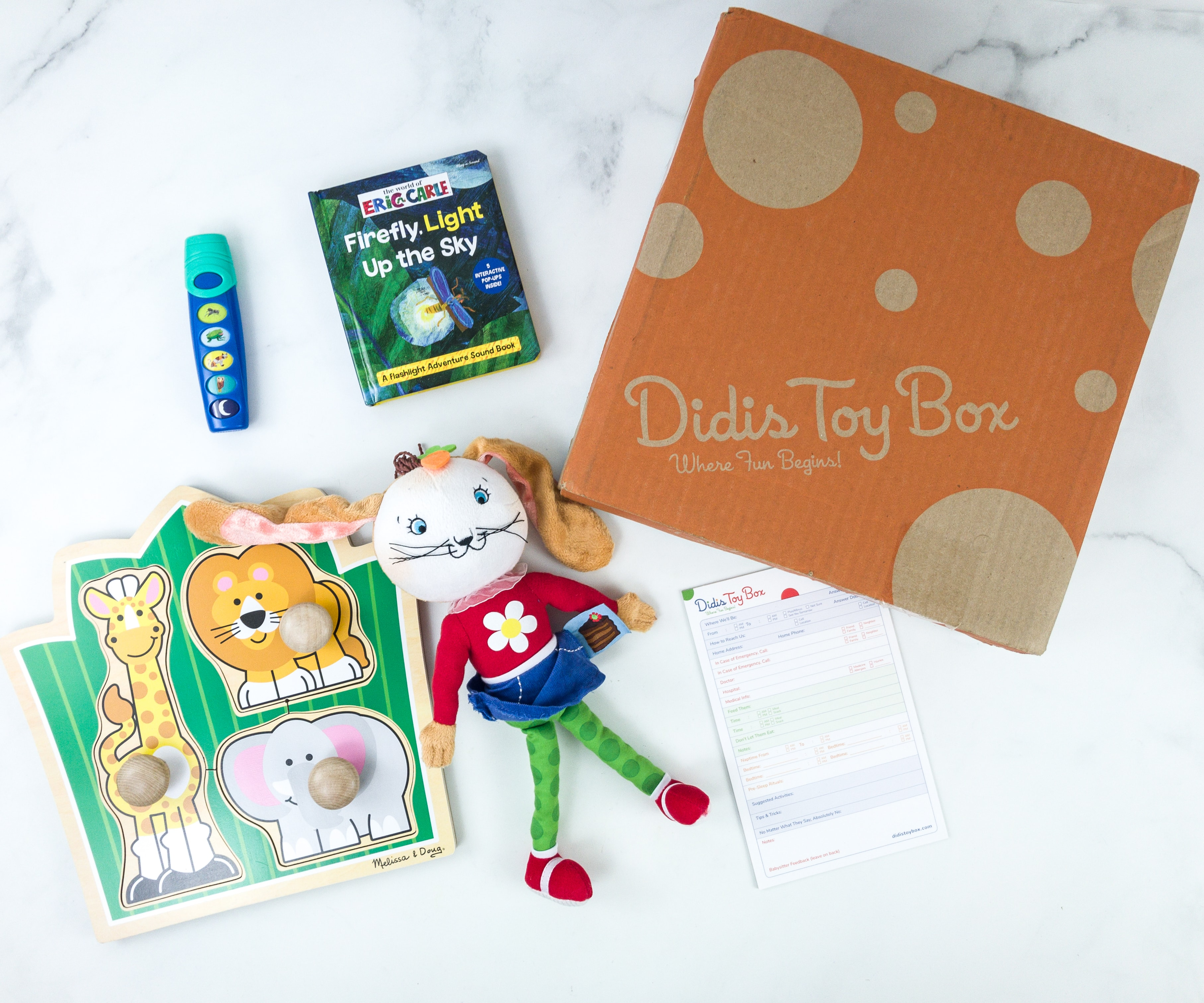 Didis Toy Box September 2019 Subscription Box Review & Coupon