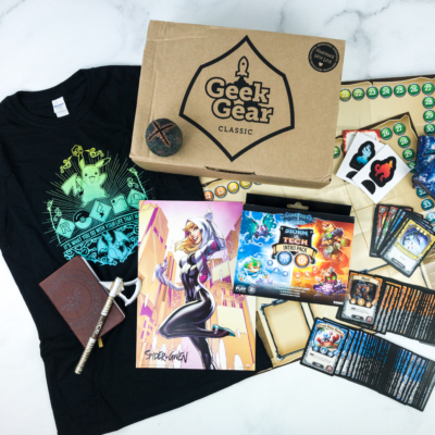 Geek Gear Box July 2019 Subscription Box Review + Coupon
