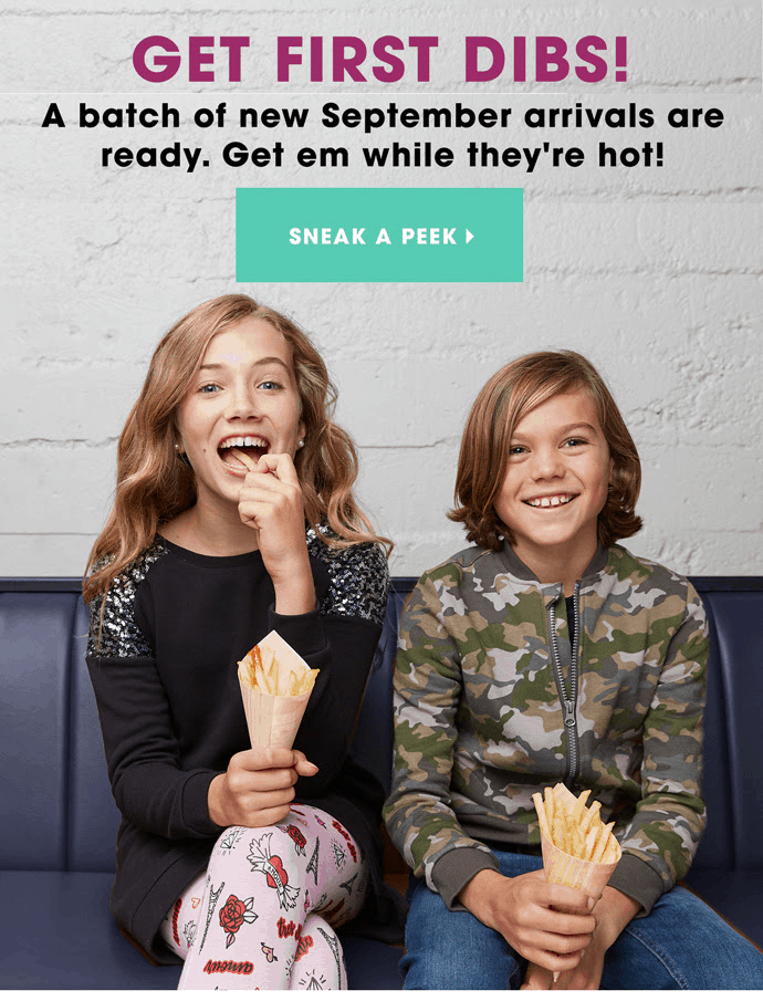 FabKids September 2019 Collection + Coupon!