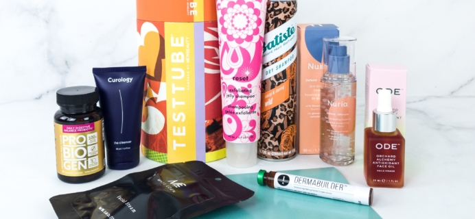 New Beauty Test Tube September 2019 Subscription Box Review