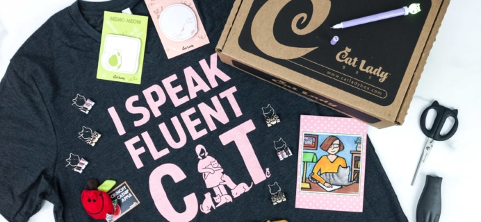 Cat Lady Box September 2019 Subscription Box Review