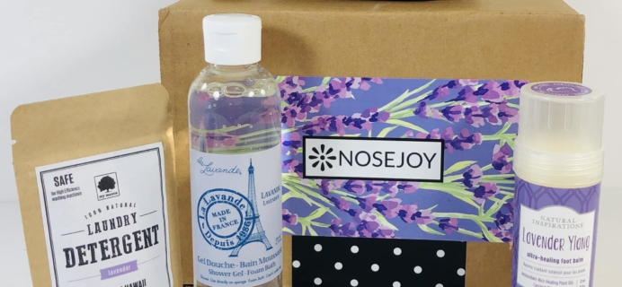 NOSEJOY August 2019 Subscription Box Review + Coupon!