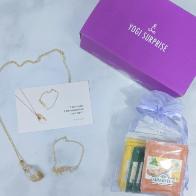 Yogi Surprise Jewelry Box August 2019 Subscription Review + Coupon