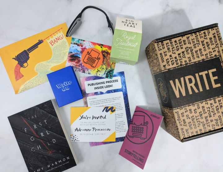 Scribbler August 2019 Subscription Box Review - o ... on