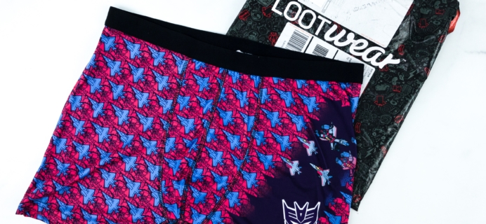 Loot Undies February 2019 Subscription Review + Coupon